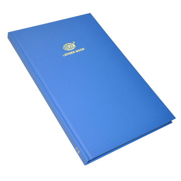 Picture of FIS Laid Paper Book Ledger, Blue - 210 x 330mm, Pack of 20