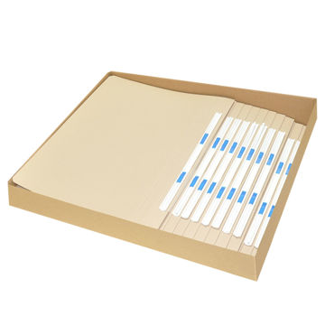 Picture of FIS Flat File With Plastic Fastener, 320g, Pack of 20