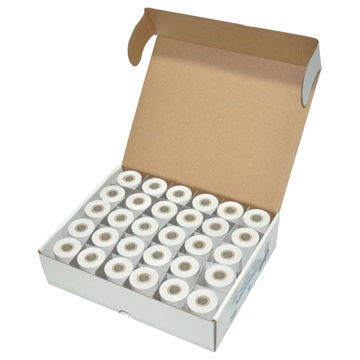 Picture of FIS Thermal Paper Roll Set Of 30, White - 13m, Pack of 300