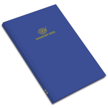 Picture of FIS Square Line Manuscript Book A5 2Q, Blue, 5mm, Pack of 80