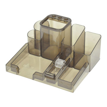 Picture of FIS Desk Organizer For Staionary - Brown, Pack of 24