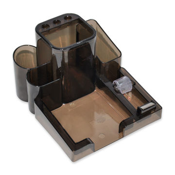 Picture of FIS Desk Organizer For Stationary - Black, Pack of 30