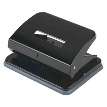 Picture of FIS 2 Hole Medium Paper Punch, Black, Pack of 96