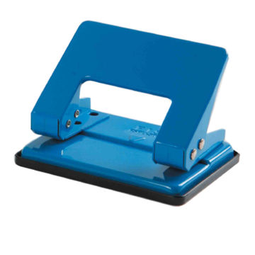 Picture of FIS 2 Hole Medium Paper Punch, Blue, Pack of 72