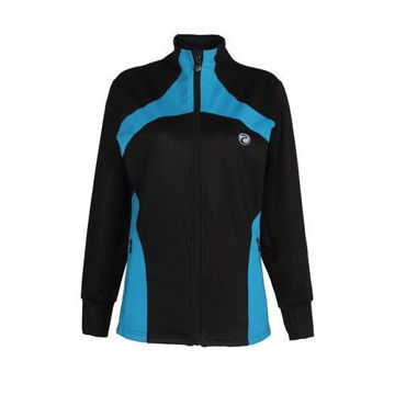 Picture of Prima Womens Sports Jacket -  Black & Blue - Pack of 12