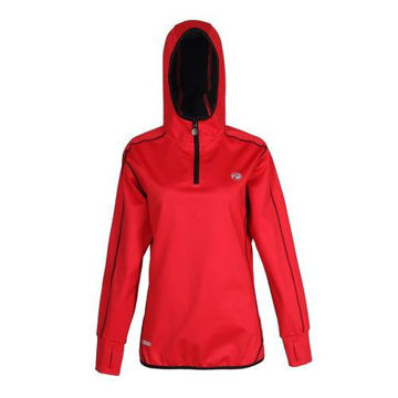 Picture of Prima Womens Sports Jacket -  Red & Black - Pack of 12