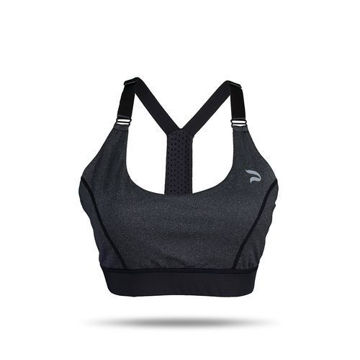 Picture of Prima Ladies Sports Bra -  Black, Blue & Pink - Pack of 12