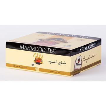Picture of Mahmood Tea Black Tea Bags, 100 Pieces, Pack of 18 - Carton