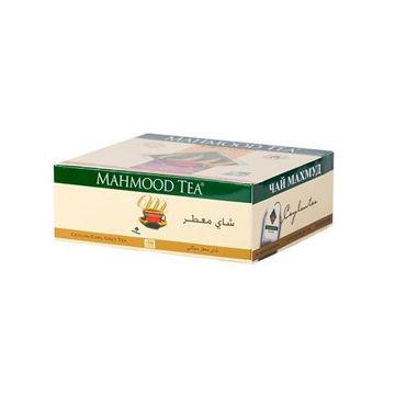 Picture of Mahmood Tea Earl Grey Tea Bags Black, 100 Pieces, Pack of 18 - Carton