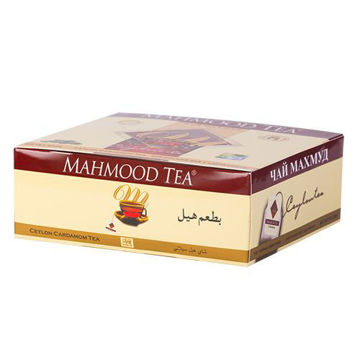 Picture of Mahmood Tea Cardamom Tea Bags, 100 Pieces - Carton