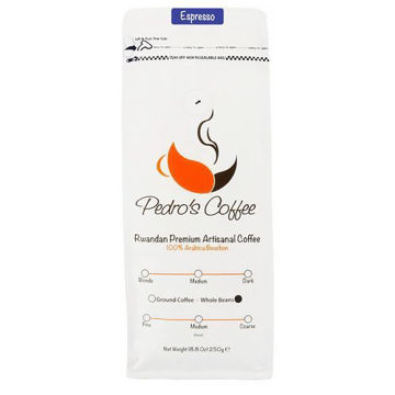 Picture of Pedro's Coffee - Espresso Roast, Whole Beans- 250g