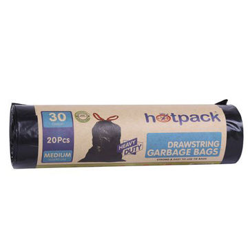 Picture of Hotpack Drawstring Bag, 12 Pieces, 60 x 90 cm - Pack of 20, Carton