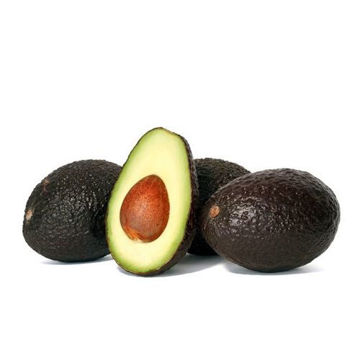 Picture of Large Fresh Hass Avocado, 4kg, 18 Pieces - Carton