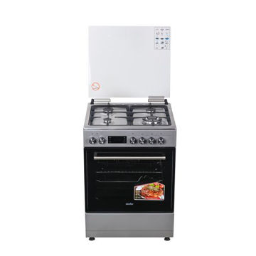 Picture of Simfer 4 Burner Gas & Electric Oven Cooker, 6402NEI