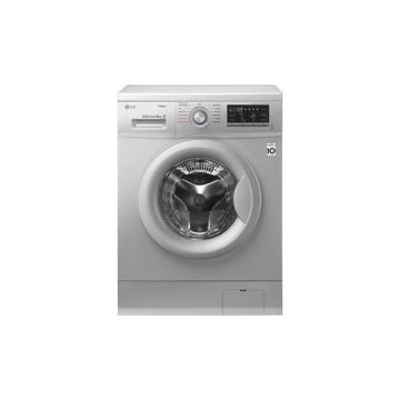 Picture of LG Front Load Washing Machine, FH4G7TDY5, 8kg, DD, Steam - Silver