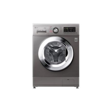 Picture of LG Front Load Washer Dryer, FH4G6VDGG6, 9.5kg, Silver
