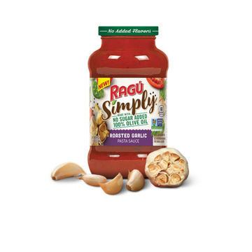 Picture of Ragu Chunky Roasted Garlic Sauce, 680g, Pack of 6
