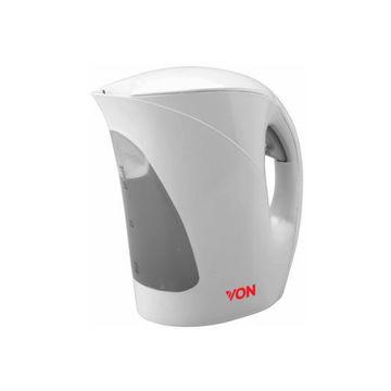Picture of Von Corded Plastic Kettle 1.7L, HK117FW, White