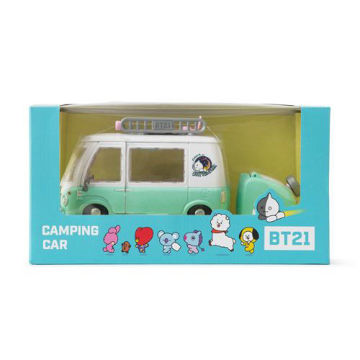 Picture of BT21 Camping Car, White and Green, Pack of 3