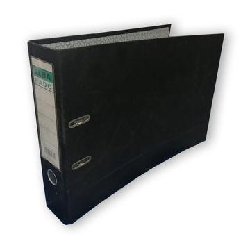 Picture of Alba Rado 3Inch A3 Oblong Arch File, Black, Carton of 12 Pieces