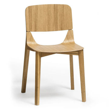 Picture of Leaf Solid Beech Wood Frame Chair