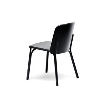 Picture of Solid Beech Wood Frame Armchair-33