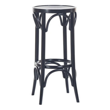 Picture of Solid Beech Wood Frame Barstool-73