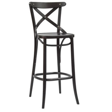 Picture of Solid Beech Wood Frame Barstool-150
