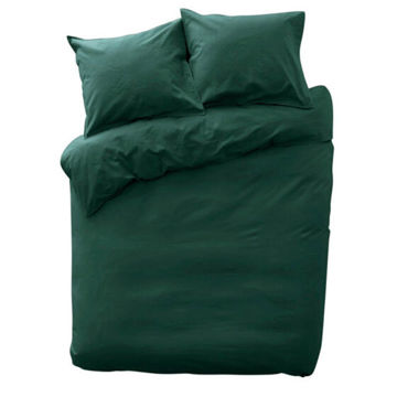 Picture of JD Cotton Duvet Cover Set, Dark Green, 140x200cm, Pack of 10
