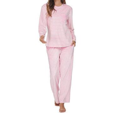 Picture of JD Women's Pajama Set, VD20112, Light Pink, Medium, Pack of 25