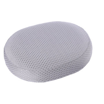 Picture of 4R Round Memory Foam Seat Cushion, KE-LC005A, Grey, Pack of 10