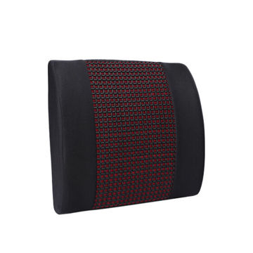 Picture of 4R Memory Foam Seat Cushion, KE-LC016A, Black & Red, Pack of 5