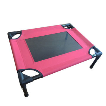 Picture of JD Pet Cot with Velcro, TPK0001-91, Black & Red, Pack of 6