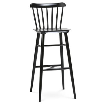 Picture of Ironica Solid Beech Wood Barstool