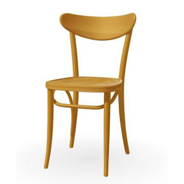 Picture of Banana Solid Beech Wood Frame Chair- Honey