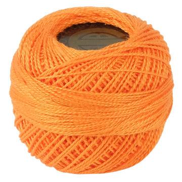 Picture of Crochet 95Y Cotton Yarn Thread Balls, Orange - Pack Of 100