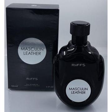Picture of Masculin Leather Eau de Parfum, 100ml - Pack of 96