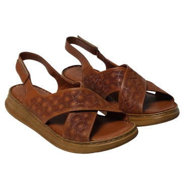 Picture of Leather Stitched Velcro Strap Sandals - Carton of 12