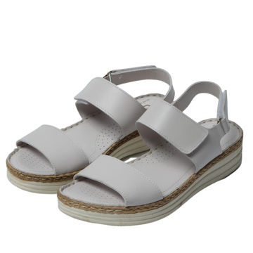Picture of Leather Velcro Thick Strap Sandals - Carton of 12