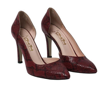 Picture of Leather Pointed-Toe Slip-On Stilettos, 3.5Inch - Carton of 12