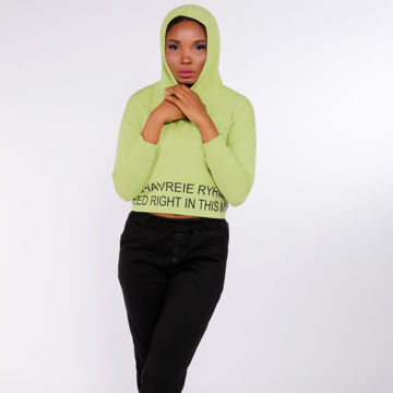 Picture of Long-Sleeve Cropped Casual Hoodie - Pack of 12