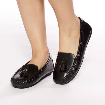 Picture of Glossy Espadrillas with Tassels - Pack of 12