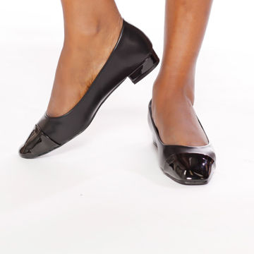 Picture of Almond-Toe Ballerina Shoes with Heel - Pack of 12
