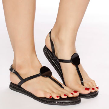 Picture of Plastic Casual-Wear Flat Sandals - Pack of 12