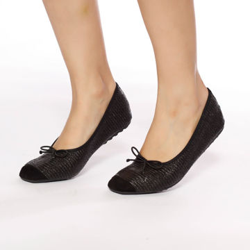 Picture of Moccasin Ballerina Shoes with Bow - Pack of 12