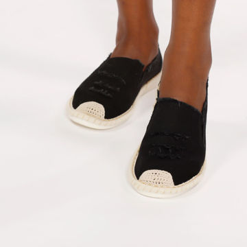 Picture of Canvas and Jute Casual Espadrilles - Pack of 12