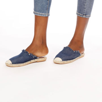 Picture of Slip-On Denim Casual Espadrilles - Pack of 12
