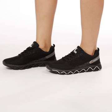 Picture of Wavy-Sole Lace-Up Mesh Sport Shoes - Pack of 12