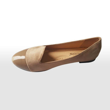 Picture of Classic Velvet Almond-Toe Ballerina Shoes - Pack of 12