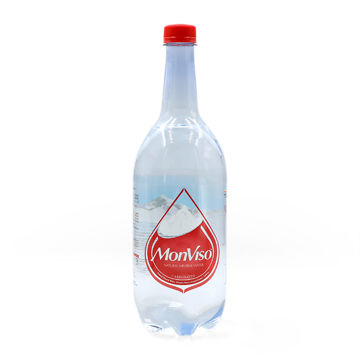 Picture of MonViso Natural Mineral Sparkling Water, 1L - Pack of 6